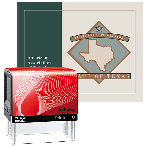 Texas Notary Supplies Value Package II