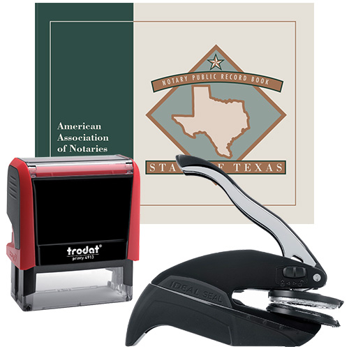 Texas Deluxe Notary Supplies Package II