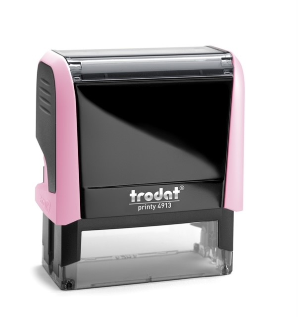 Notary Stamp Light Pink - Trodat 4913