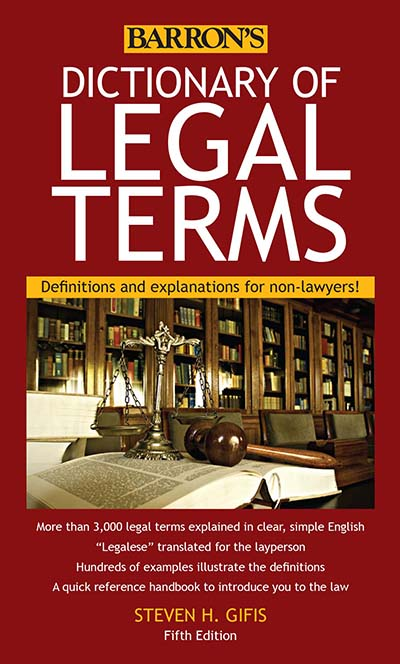Dictionary of Legal Terms for California Notaries