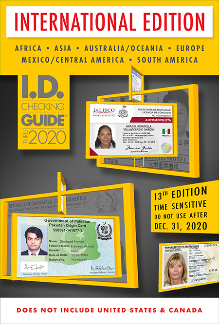 Notary I.D. Checking Guide International for California Notaries