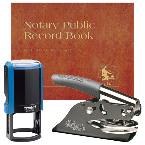 Notary Supplies Deluxe Package (MS)