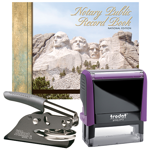 California Deluxe Notary Supplies Package II