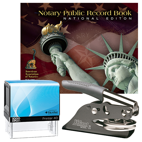 California Deluxe Notary Supplies Package I