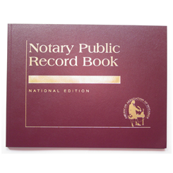 This is our top-of-the-line Louisiana notary record book. This attractive book features a contemporary leatherette cover with gold-embossed text finish. Perfectly bound and chronologically numbered so that you can easily detect if the record is ever tampered with. Accommodates over 728 entries (104 pages). Includes complete step-by-step instructions. Meets or exceeds Louisiana state requirements for proper notarial record keeping.