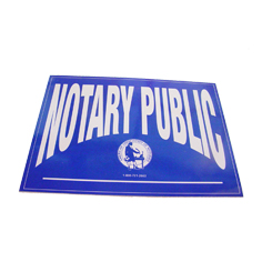 Increase sales and identify yourself as a Missouri notary public by applying these double-sided notary decals on any glass surface. These decals can be viewed from either side of the glass and can be applied and removed with ease. Decal size is 5 X 7 inches.</title></title>